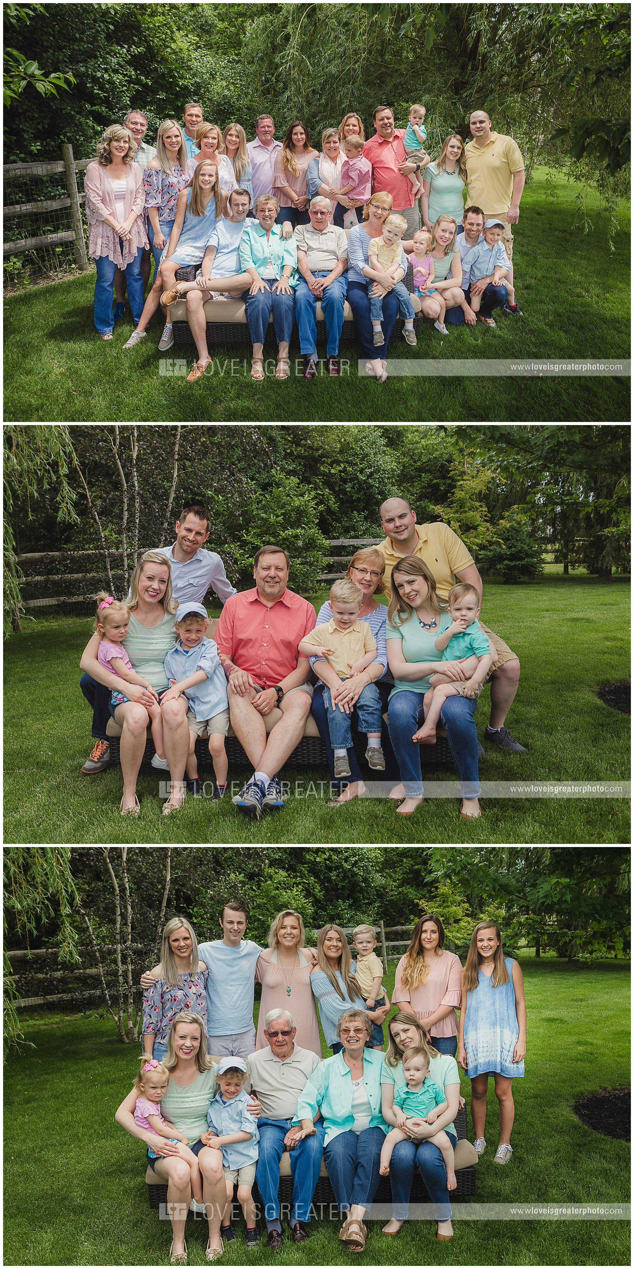 extended family photography, extended family photo shoot, large family photo shoot, family photography, ohio family photographer, toledo family photographer, toledo ohio family photgrapher